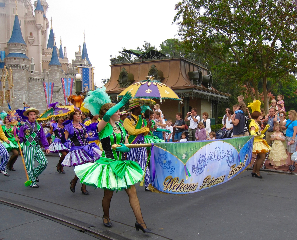 Princess Tiana arrives - Disney World - http://iamsherrelle.com