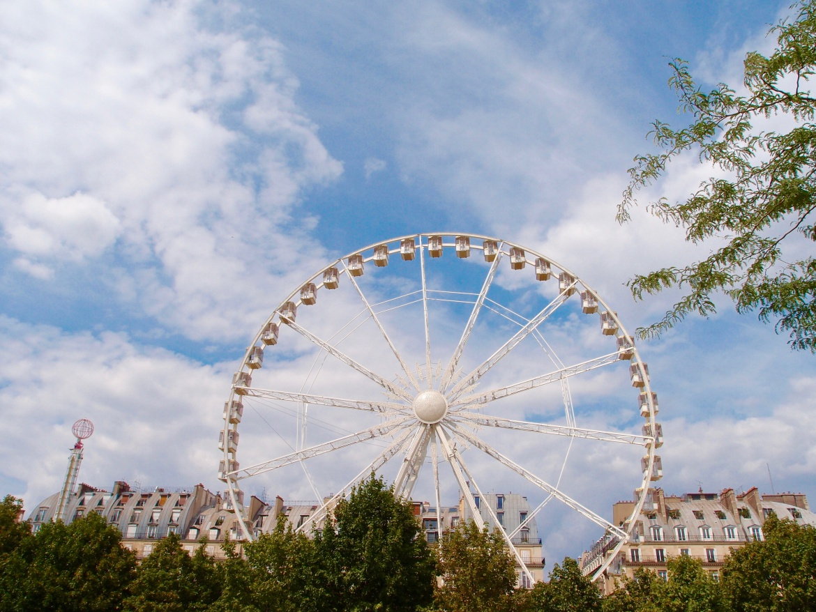 Paris Love Tulleries ferris wheel http://iamsherrelle.com