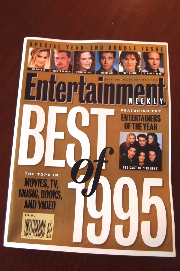 Entertainment Weekly year End 1995
