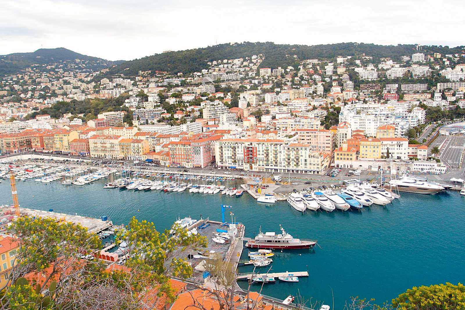 In the South of France: Èze and Nice