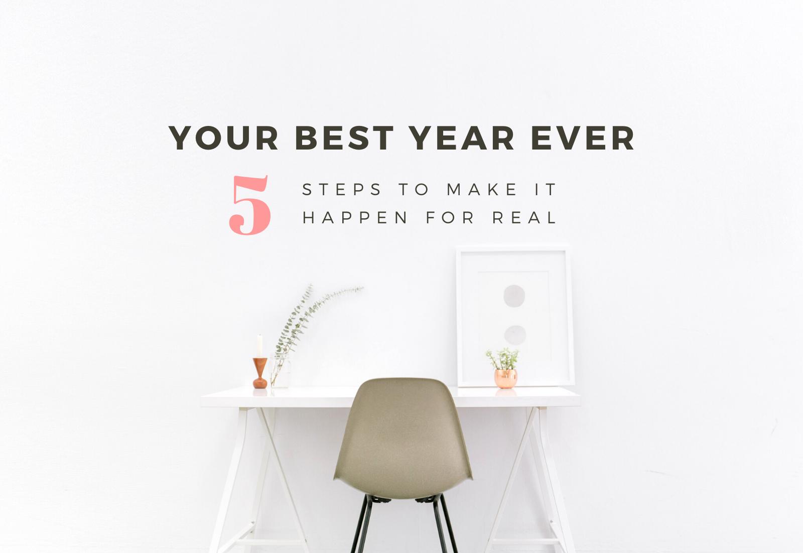 Your best year ever workbook